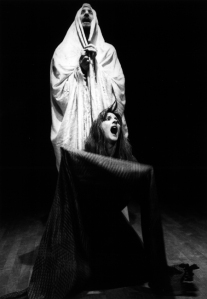 "Sarah Fry and Corey in ""Dybbuk,"" 1988"