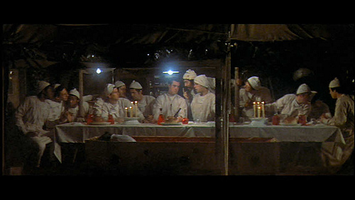 The Last Supper from MASH. I'm second from left.